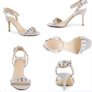 BCBGeneration Studded Strappy Sandal Heels
